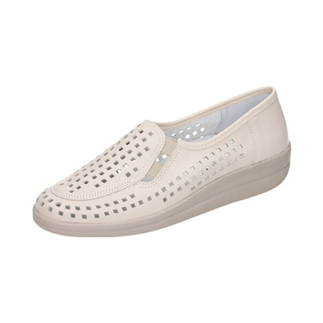 "Damen-Slipper ""Verona""  creme 1"