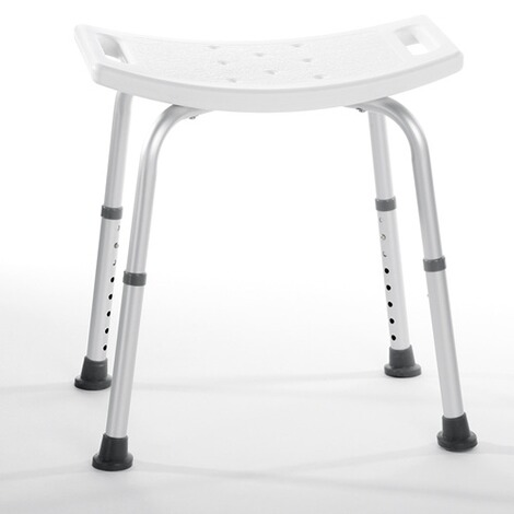 REHAFORUM MEDICAL  Douchezitje met rugleuning  backless 1