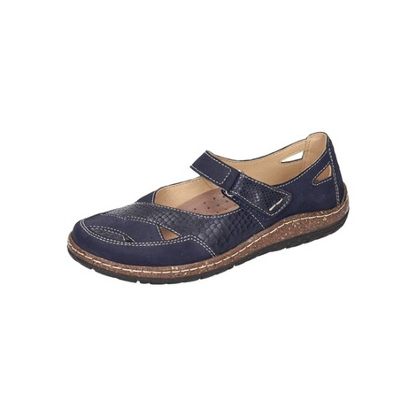 MANITU  Damen Slipper  blau 1