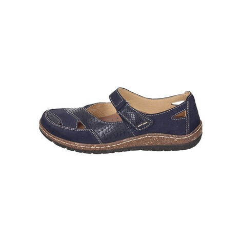 MANITU  Damen Slipper  blau 2
