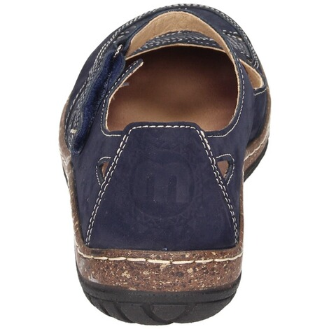 MANITU  Damen Slipper  blau 3