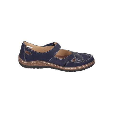 MANITU  Damen Slipper  blau 4