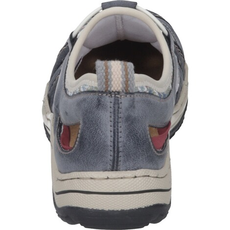RIEKER  Damen Slipper  blau 3