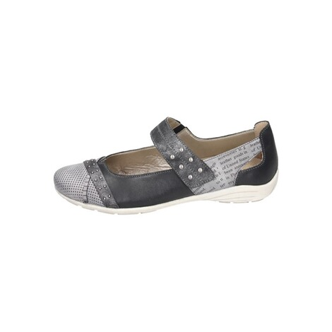 REMONTE  Damen Slipper  grau 2