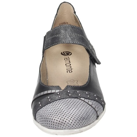 REMONTE  Damen Slipper  grau 5