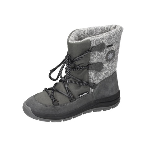 MANITUManitu Damen Snowboot Polartex  grau 1