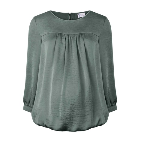 PAULINA  Umstandsbluse Perfect Sense  deep forest 1