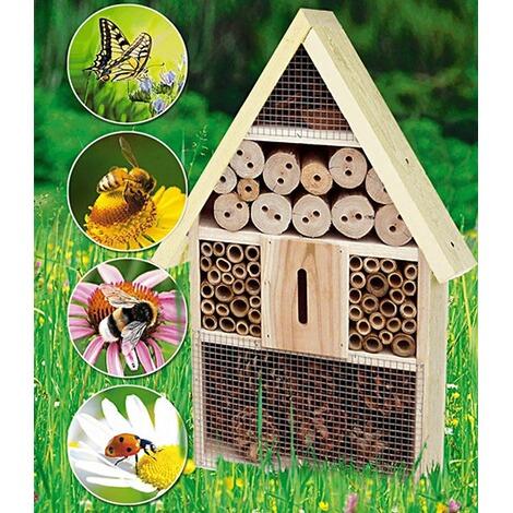 Xxl Insektenhotel Insektenhaus Nistkasten 48x31x10 Cm Online