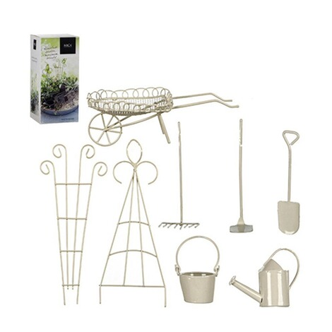 Mini Garten Starter Set Weiß 8 Teilig1 Set Online Kaufen Die