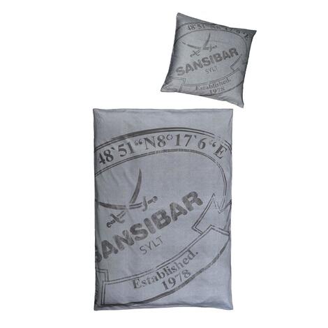 Satin Bettwäsche Sansibar Ca 135x200 Cm Grau Online Kaufen Die