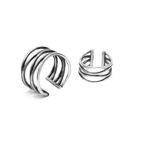 ringe auf phalangen spinnfaden 925 sterling silber online kaufen die moderne hausfrau. Black Bedroom Furniture Sets. Home Design Ideas