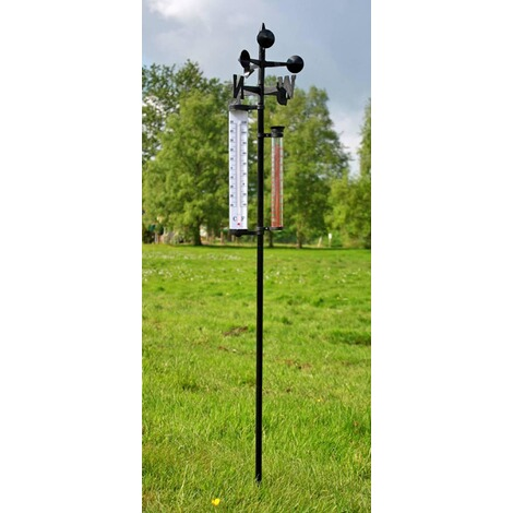 Wetterstation inkl. Thermometer 2