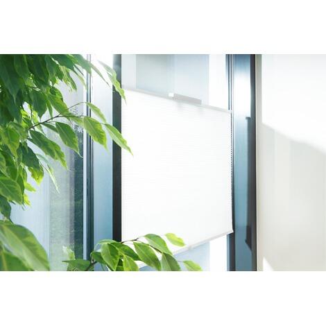 sonnenschutzplissee mit saugnapf flex ca 100x130 cm online kaufen die moderne hausfrau. Black Bedroom Furniture Sets. Home Design Ideas