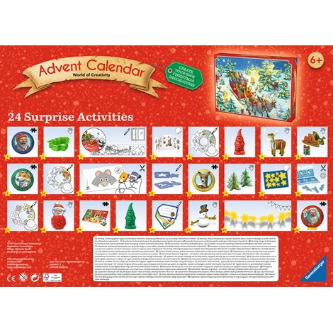 RAVENSBURGER  Advent Calendar - Do it Yourself 2