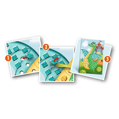 RAVENSBURGER  Mosaic Junior 6