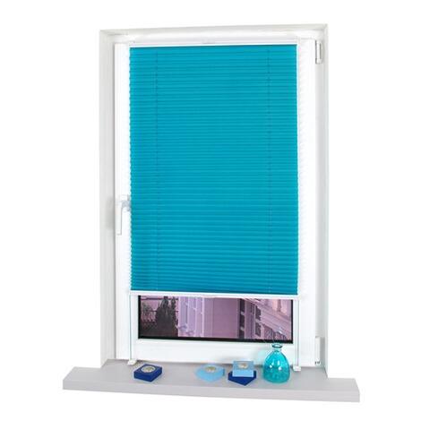 klemmfix plissee verspannt blue lagoon online kaufen die moderne hausfrau. Black Bedroom Furniture Sets. Home Design Ideas
