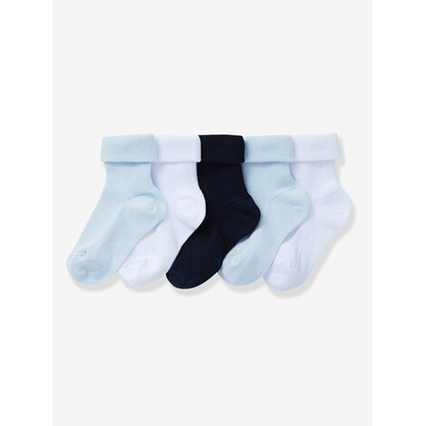 VERTBAUDET  HAPPY PRICE 5er-Pack Socken für Babys  pack blau 1