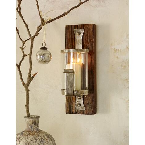 wand kerzenhalter wood online kaufen die moderne hausfrau. Black Bedroom Furniture Sets. Home Design Ideas