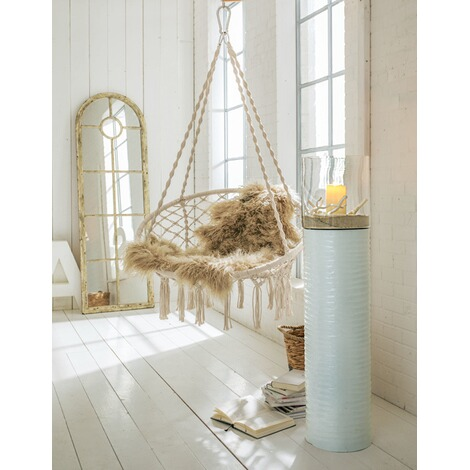 h ngesessel nizza wei online kaufen die moderne hausfrau. Black Bedroom Furniture Sets. Home Design Ideas