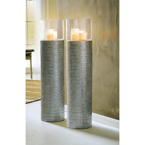 boden windlicht silver oriental silberfarben online kaufen. Black Bedroom Furniture Sets. Home Design Ideas