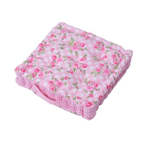 sitzkissen rosanna rosa kariert online kaufen die moderne hausfrau. Black Bedroom Furniture Sets. Home Design Ideas