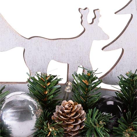 led deko objekt silhouette winterwald online kaufen die. Black Bedroom Furniture Sets. Home Design Ideas