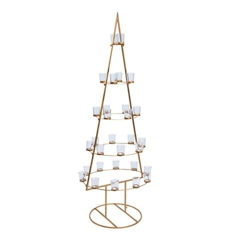 deko objekt weihnachtsbaum golden tree online kaufen die. Black Bedroom Furniture Sets. Home Design Ideas