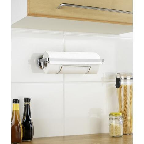 Küchenrollenhalter Ohne Bohren wenko magic loc küchenrollenhalter befestigen ohne bohren