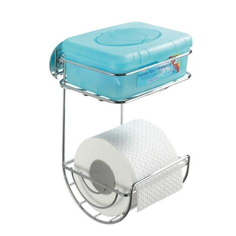 wenko turbo loc toilettenpapierhalter mit ablage befestigen ohne bohren online kaufen die. Black Bedroom Furniture Sets. Home Design Ideas