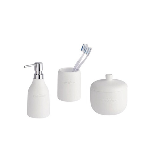 Wenko Bad Accessoires Set The Collection White Online Kaufen Die