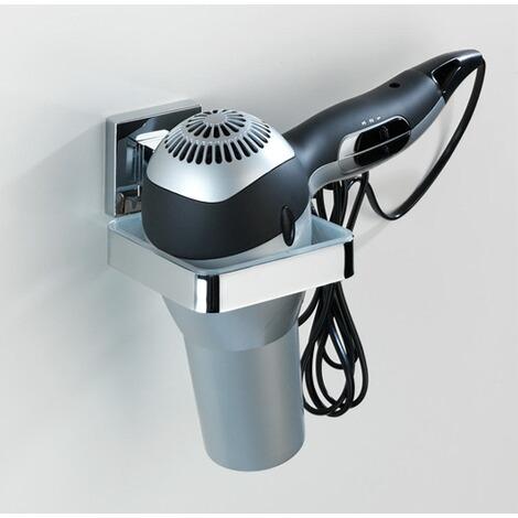 wenko vacuum loc haartrocknerhalter quadro befestigen ohne bohren online kaufen die moderne. Black Bedroom Furniture Sets. Home Design Ideas
