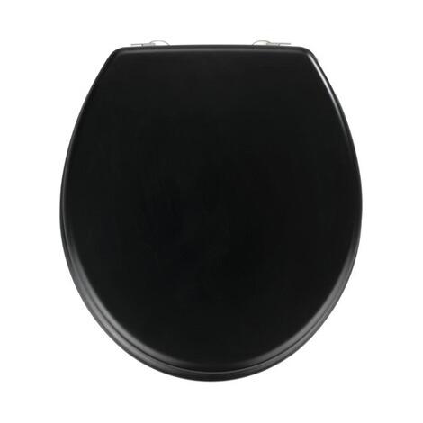 wenko easymaxx wc sitz prima schwarz matt online kaufen die moderne hausfrau. Black Bedroom Furniture Sets. Home Design Ideas