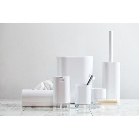 wenko schwingdeckeleimer oria acryl 7 liter online kaufen die moderne hausfrau. Black Bedroom Furniture Sets. Home Design Ideas